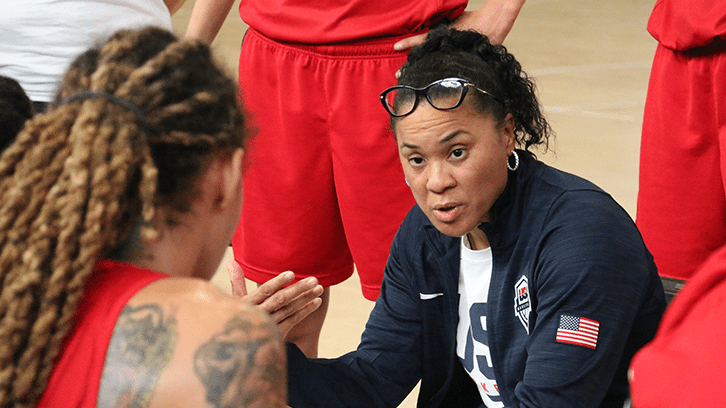 """Dawn Staley gives an update on preparation for Tokyo 2021, """"everything is still so fluid"""""""