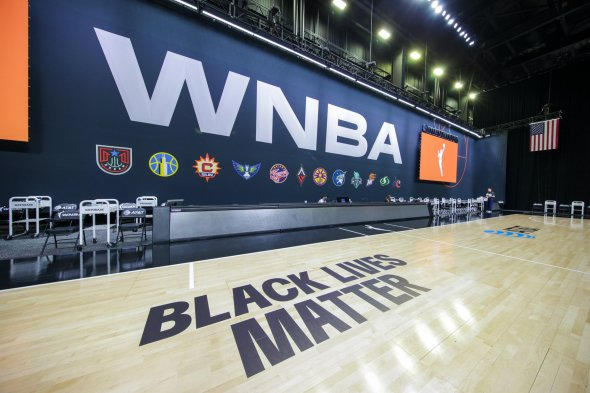 WNBA Black Lives Matter