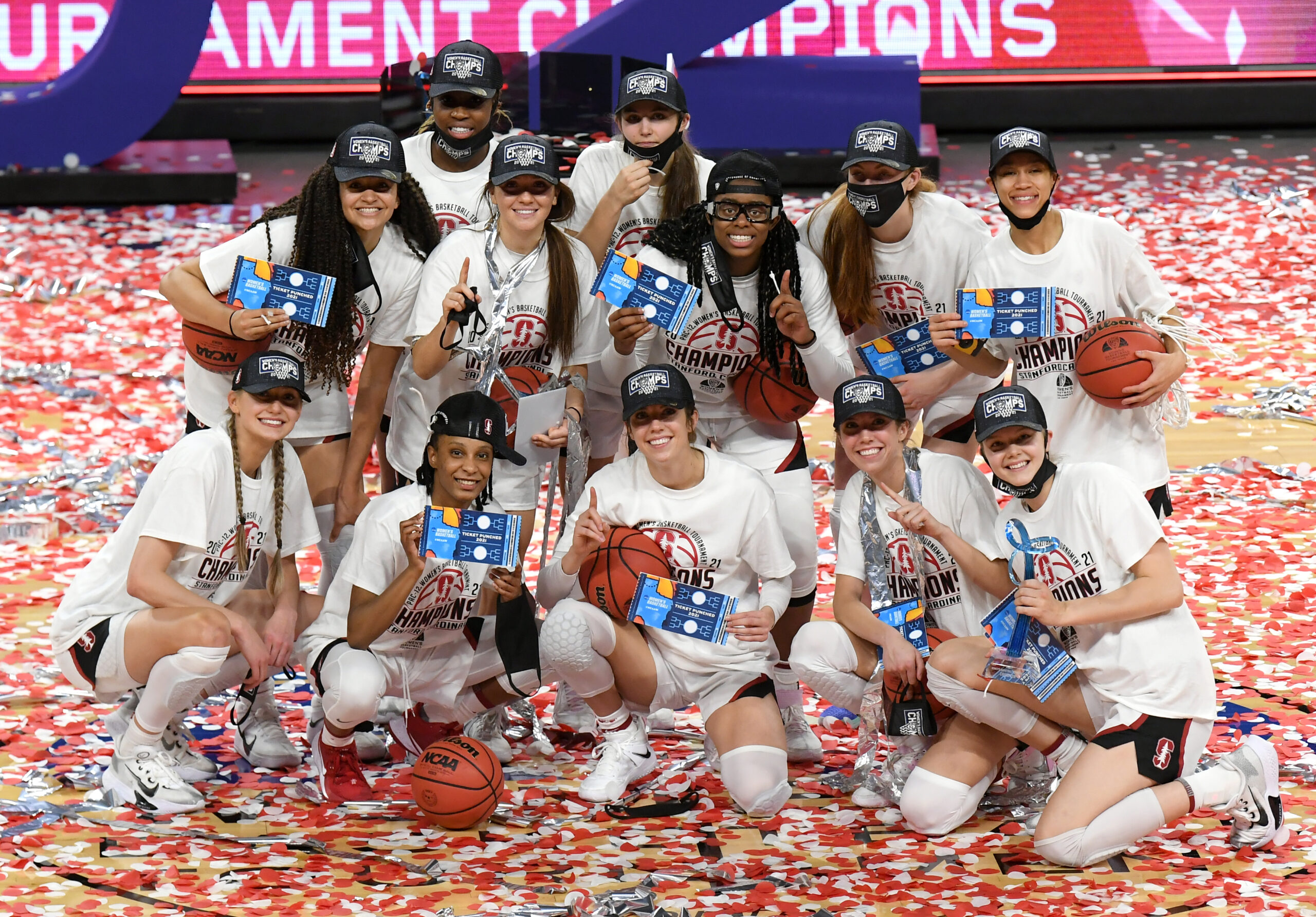 Stanford runs past UCLA 75-55 to win Pac-12 Tournament for the 14th time