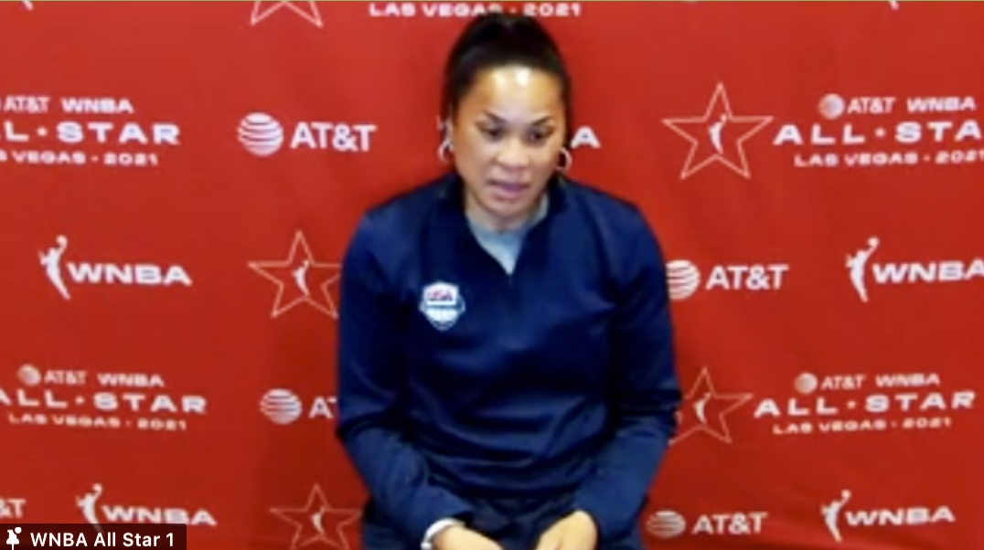 2021 WNBA All-Star: Team USA answers questions from the media