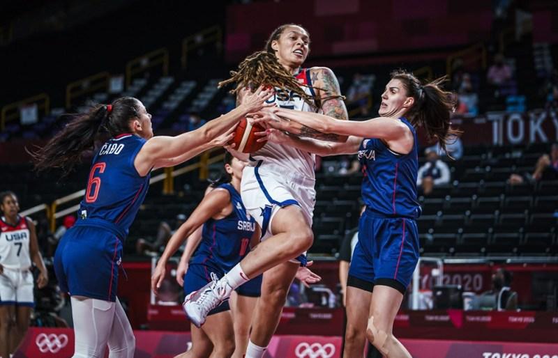 TOKYO (Aug. 6, 2021) - Brittney Griner. Photo: FIBA.