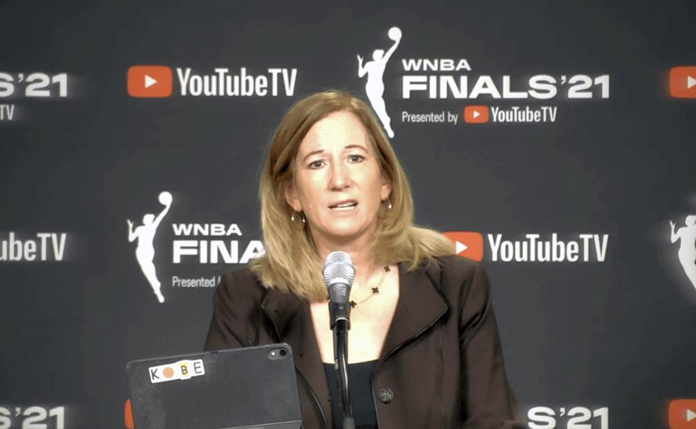 WNBA Commissioner Cathy Engelbert's 2021 Finals Press Conference