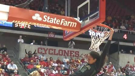 Video: Brittney Griner's breakaway dunk vs. Iowa State, January 23, 2013
