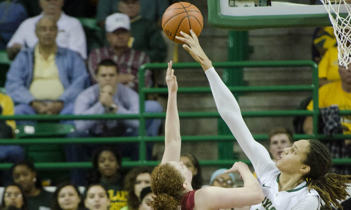 Griner sets NCAA blocking record, nearly ties Big 12 all-time scoring record in win over Oklahoma