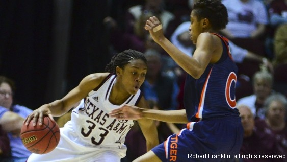 No. 20 Texas A&M routs Auburn 78-58, continues strong run in SEC play