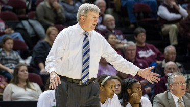 Texas A&M coach Gary Blair. Photo: Texas A&M Athletics.