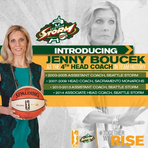 Seattle Storm infographic.