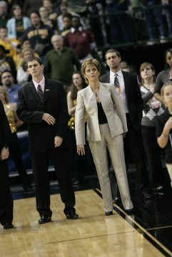 Kim Mulkey during the 2011 Big 12 Championship title game vs. Texas A&M. Photo: Cheryl Vorhis