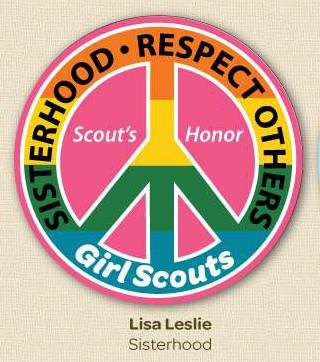 Lisa Leslie Girl Scout Patch