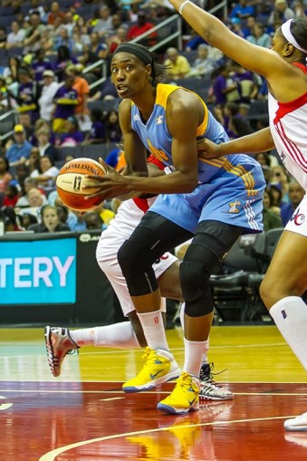 Sylvia Fowles. Photo © Mark W. Sutton, all rights reserved.