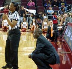 USC head coach Michael Cooper vs. Oregon State head coach Scott Rueck