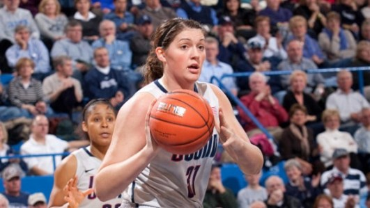 Stefanie Dolson. Photo: UConn Athletics.