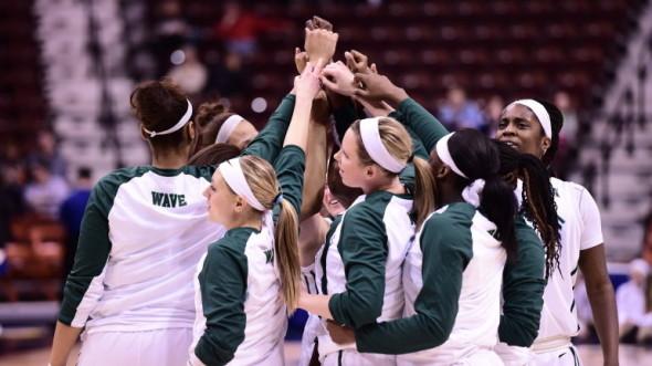 Tulane women's basketball. Photo: Tulane Athletics.