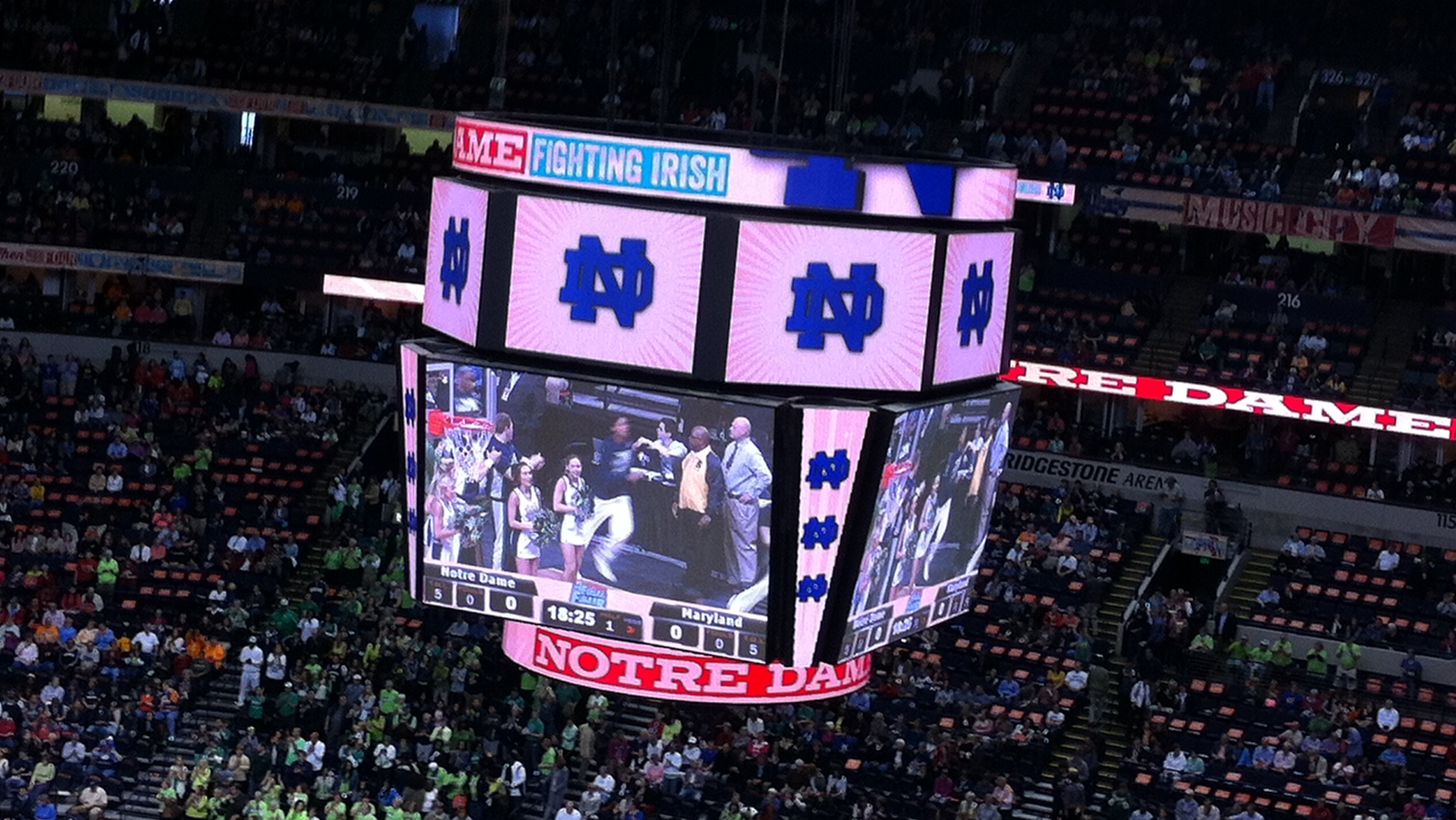 Notre Dame advances to championship game, cruises past Maryland 87-61