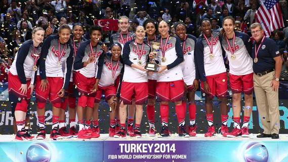 Undefeated USA claims FIBA World Championship gold with 77-64 win over Spain