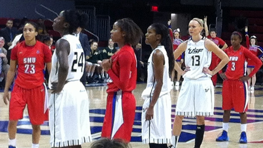 USF size, defense too much for SMU, Bulls spoil Mustangs return to Moody Coliseum with 76-62 win