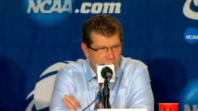 This time instead of criticizing, Auriemma has a solution for future attendance issue