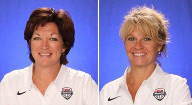 USA Basketball: Katie Meier, Sherri Coale