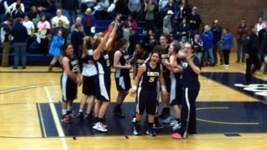 March 1, 2013 - Smith College upsets Southern Maine in first round of the DIII NCAA tournament.