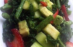 Kale Salad, Photo: LawsOnWellness.com