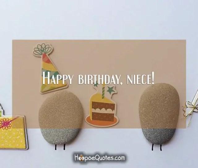 Happy Birthday Niece Birthday Quotes