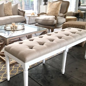 French Provincial Bench Seat