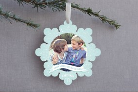 Winter Wonderland Ornament Card
