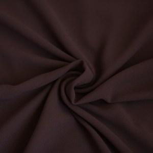 Hooriyah Collection's Venza -Choclate Brown premium chiffon hijab wrap