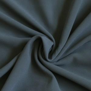 Hooriyah Collection's Venza -Charcoal Grey premium chiffon hijab wrap