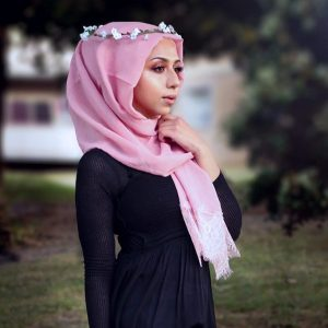 Hooriyah Collection's Lace Hijab