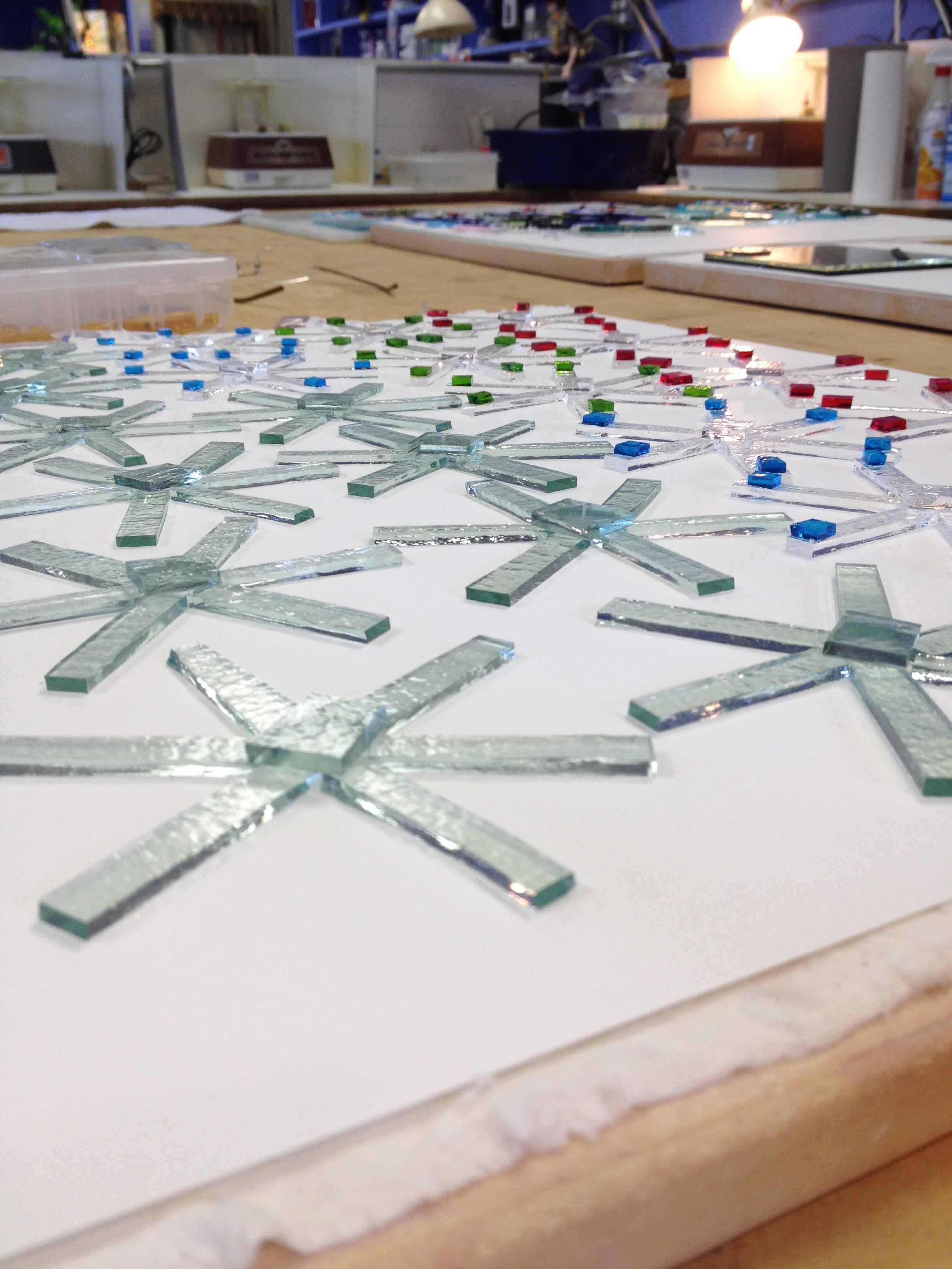 Fused Glass Christmas Ornaments | Hootido.com