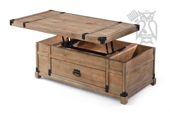 acacia wood lift top coffee table trunk in carmel burnished natural finish