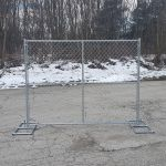 Hoover Fence Chain Link Temporary Fence Panels Hoover Fence Co
