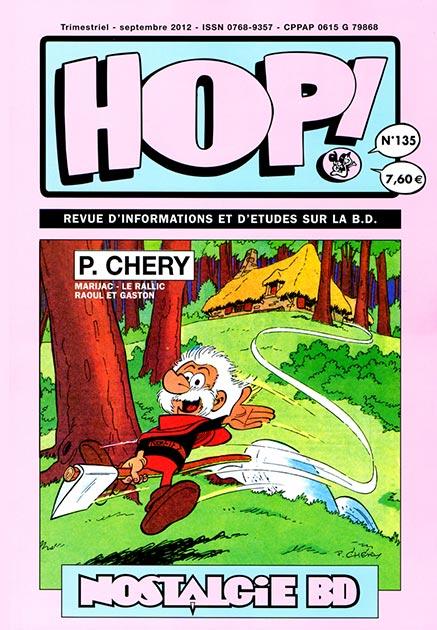 Couverture Hop ! N°135 spécial P. Chery - hop-bd.fr