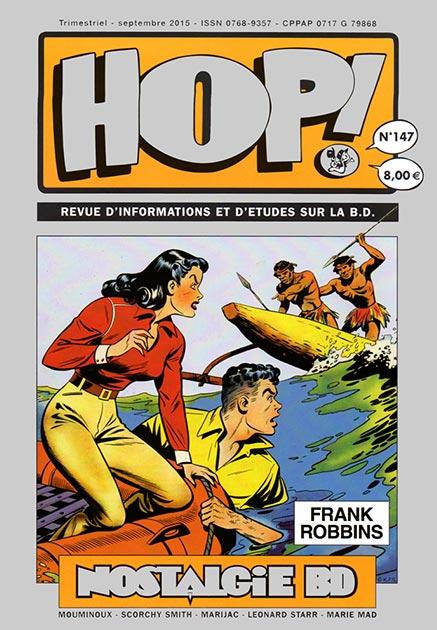 Couverture Hop ! N°147 spécial Frank Robbins - hop-bd.fr