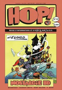 Couverture Hop ! N°157 spécial Cézard - hop-bd.fr