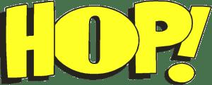 Logo Hop ! jaune