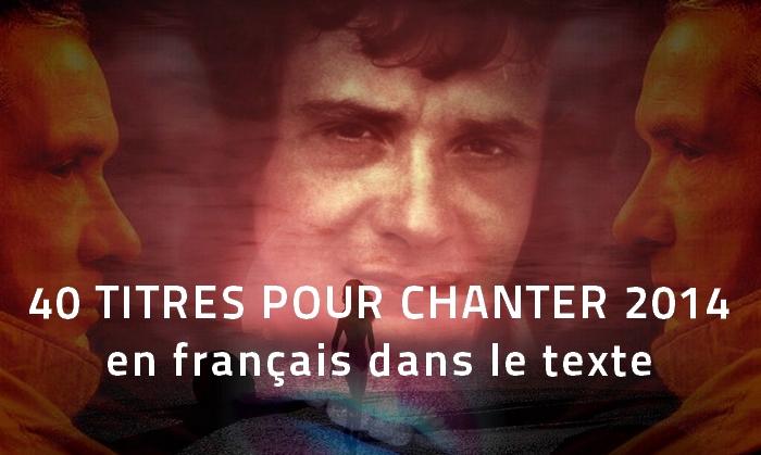 sardou 40 titres pour chanter 2014 en français dans le texte