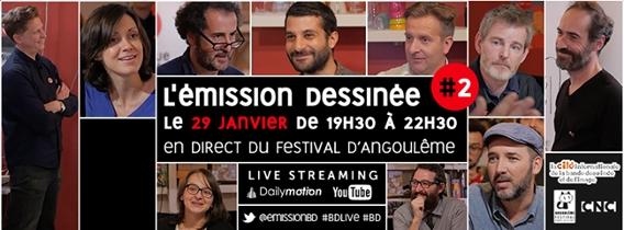 revue-dessinee-angouleme-2015 L'Émission Dessinée, en direct d'Angoulême, le 29 janvier
