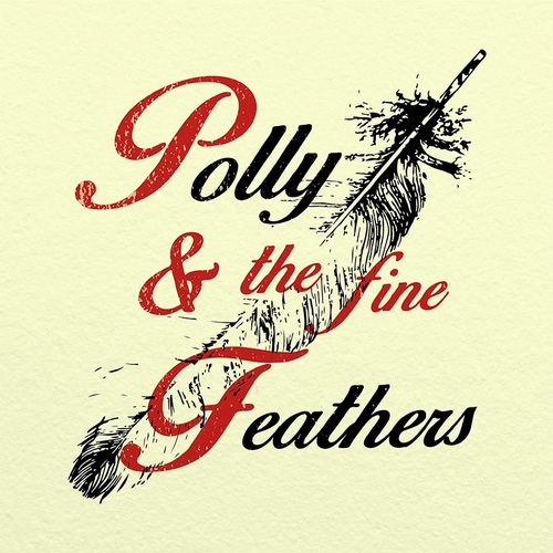 polly-and-the-fine-feathers-cover-album Pollyanna en trio avec Polly & The Fine Feathers