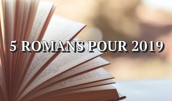 5 romans pour 2019