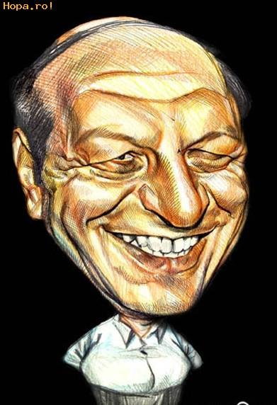Caricaturi de personaje - Traian Basescu