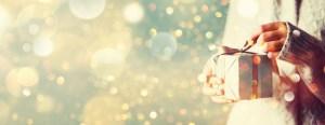 Glitzer mit Weihnachtspaket - Ein bisschen Glitzer trotz Nachhaltigkeit