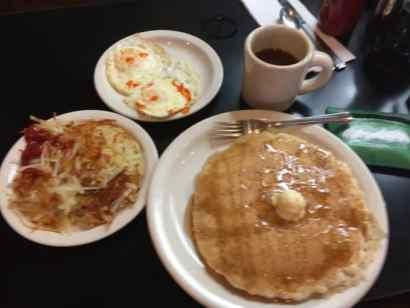 Huge breakfast!