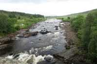 The Bridge of Orchy is treated to this view every day