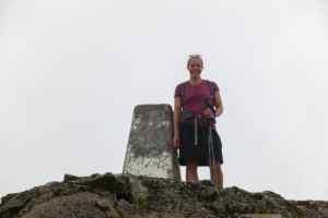 Nancy at the summit