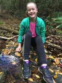 Kaylee is Paige's best friend and she is joy to take on a hike with her positive attitude!