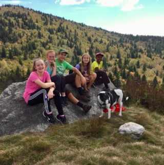 Mountains to Sea Trail to Fork Ridge
