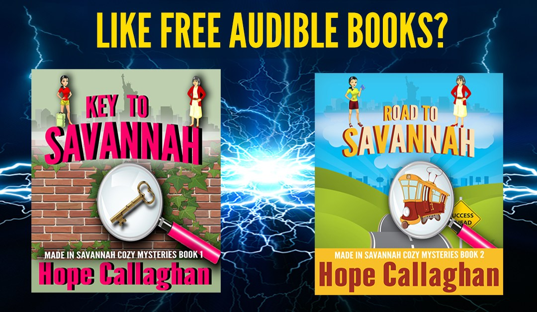 FREE Audiobooks from Christian Author Hope Callaghan