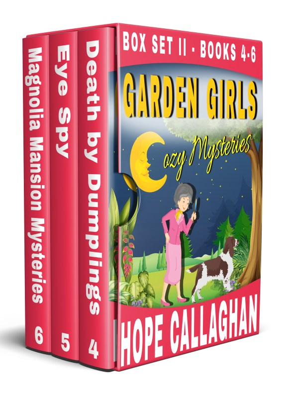 Garden Girls Cozy Mysteries Series Box Set II (Books 4-6)